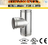 304 Stainless Steel Grooved Ends Tee Fittings