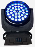 36PCS 10W RGBW LED Moving Head Wash Zoom Light