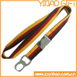 플라스틱 ID 카드 (YB-LY-04)를 가진 세관 관리 방아끈