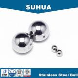 bola de acero inoxidable de 1m m para la esfera sólida de la máquina de pulir del chocolate