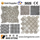 Mosaico de Stone da natureza, mosaico Tile de Marble para Decorative Wall e Floor Tile