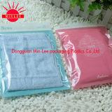 2016 kundenspezifisches gedrucktes Tuch trifft mit Reißverschluss wiederversiegelbare Plastikbeutel für T-Shirt/Unterwäsche/Socke hart