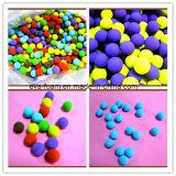 ترويج المبيعات الملونة مرونة عالية 25 درجة إيفا رغوة الكرة 5CM 6CM