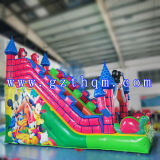 팽창식 Water Slide 또는 Inflatable Swimming Pool Water Slide