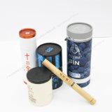Étain décoratif rond de thé de qualité de prix usine