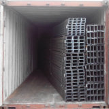 Ss400 JIS Standard Steel Channel con Different Size