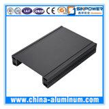 Profil en aluminium de la qualité 6063-T5/en aluminium expulsé industriel