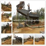 Pianta di lavaggio dell'oro mobile alluvionale in Africa (3-500t/h)