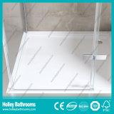 Douche imperméable à l'eau en aluminium Door-Se707c en verre Tempered de barre de matériel d'acier inoxydable