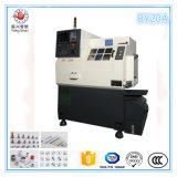 小型旋盤、高精度および低価格小型CNCの回転旋盤機械