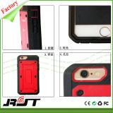 Stampfer-Entwurf 360 Grad drehen Kasten des Kickstand Mischling-TPU und DES PC Handys für das Plus iPhone 6 (RJT-0245)