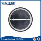 Diffuseur de système de ventilation avec un diffuseur rond en aluminium plus humide
