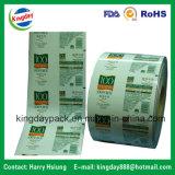 Lamellierter Rückspulen-Film/Walzen-Film/verpackenfilm für Selbst-Verpackung Maschine für Nahrungsmittelkaffee-/-biskuit-/-bohnen-Milch-Fruchtsaft-/Getränkeshampoo