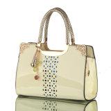 Madame Woman Patent Hobo Handbag de couturier