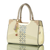Modedesigner-Frauen-Patenthobo-Dame Handbag