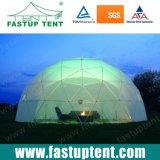 диаметр 6m гальванизирует стальной шатер торговой выставки партии геодезический купола