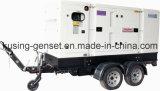 Generador diesel de la prueba de los sonidos del acoplado/Genset silencioso diesel/acoplado móvil Genset