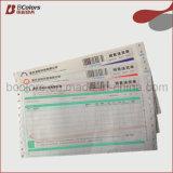 Personalizado 5-Ply autocopiativo expreso del mensajero albarán con código de barras