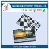 Smart card plástico simples do PVC com amostra livre