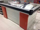 Compteur de caissier de contrôle de modèle de supermarché