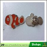 Distintivo di figura dei pesci del metallo della fabbrica dell'OEM
