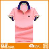 Customed 여자의 다채로운 폴로 t-셔츠