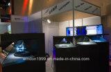 De holografische 3D Doos Holo van het Geval van de Piramide van het Hologram van de Showcase 3D