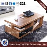 Table basse de petite taille de salle de séjour de couleur de cerise (HX-6M380)