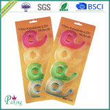 Fita plástica dos artigos de papelaria do arco-íris do núcleo BOPP para a escola e o escritório
