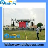 Concert esterno Aluminum Stage Lighting Truss con Roof System