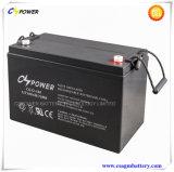 3 anos de bateria profunda 12V100ah do gel do ciclo da garantia para o armazenamento solar