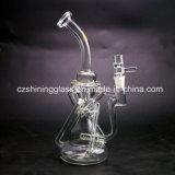 Form-Entwurfs-Raum-Farben-Glasrecycler-Wasser-Rohr für das Rauchen von Czs051
