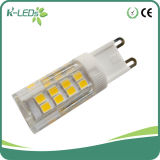 diodo emissor de luz puro do branco AC220V G9 de 3W Dimmable