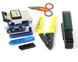 5 в 1 или 6 в 1 наборе инструментов волокна (включая FC-6 волокна тесак, волокна стриптизершу, волокна судорога плоскогубцы, ножницы волокна)
