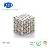 Permanent aglomerado Magnetic Material Rare Earth Ball Magnets para Jewelry/Medical/Industry