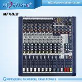 De professionele Mixer van het Kanaal Mfx8/12/20 met Usb mic--Lijn Audio die de Reeks van de Console mengen
