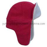 Chapéu/tampão polares feitos malha mornos do velo do inverno relativo à promoção