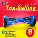 Hx 공장 도매 8 인치 2 바퀴 Bluetooth를 가진 지능적인 평형 바퀴 Hoverboard *