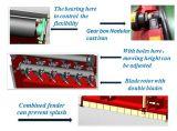 Segadeira giratória do motor giratório de China com lâminas