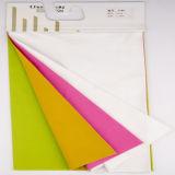 Ispessire il tessuto di cotone della saia del filo di ordito del doppio del tessuto di cotone