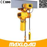China fabricante precio competitivo 0.5T-2t Etapa polipasto eléctrico de cadena