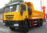 콩고에 있는 최신 340/380HP 6X4 Iveco Genlyon 덤프 트럭