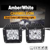 호박색 백색 LED 모는 빛 (이중 색깔, 3inch, 20W)