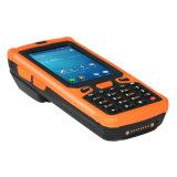 Código de barras infravermelho áspero por atacado IrDA WiFi 3G Bluetooth RFID da sustentação 1d/2D da leitura de medidor PDA de Ht380A