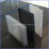 12mm/14mm/16mm/18mm/20mm/2.3*2.5m/1.5*2.3m Waterproof Eco-Friendly 반대로 Static X-Structure Transparent PC Sheet Price