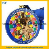 Изготовленный на заказ медаль с мягкой эмалью