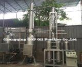 Alta máquina del purificador de petróleo de motor del negro de la basura del funcionamiento de producción del petróleo (FOE)