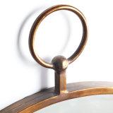 최신 판매 앙티크 빛나는 금 둥근 짜맞춰진 거울 미러