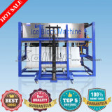 2000kg por a máquina diretamente evaporada superior do bloco de gelo da qualidade do dia
