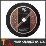 Abschleifende Ausschnitt-Platte der Tonerde-En12413 mit Griff 230X1.8X22.2